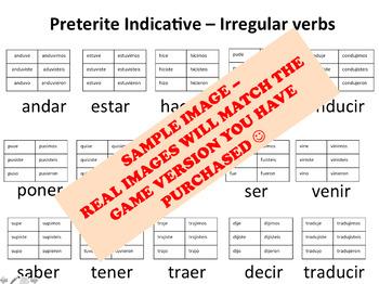"""Hormigas"" Low-Prep Spanish Conjugation Game: Preterite Regular -AR Verbs"