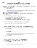 """""""Hotel Rwanda"""" Video Unit"""