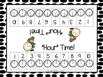 """Hour"" Time:  NO PREP Time to the Hour Roll and Remove Game"