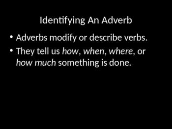 """How"" Adverbs Mini-Lesson"