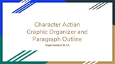 """""""How Characters Impact Plot Events"""" - Graphic Organizer and Paragraph Outline"""