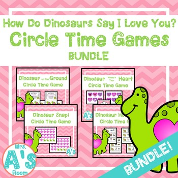 """How Do Dinosaurs Say I Love You"" Circle Time Activities"
