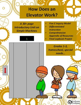 """""""How Do Elevators Work?"""" Introductory Unit to Simple Machines"""