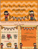 """""""How Do You Know It's Fall?""""  Bundle PowerPoint & Activity Packet"""