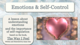 """""""The Way I Feel"""" Guidance Lesson Emotions Anger Mgt  w Video link & Activities"""
