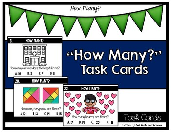 """""""How Many?"""" Task Cards"""