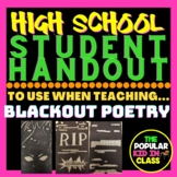 """How To"" BlackOut Poetry Assignment"