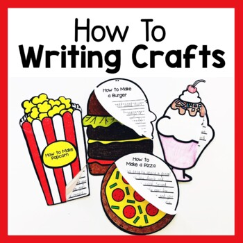 'How To' Craftivities Bundle (Procedure Writing Crafts)