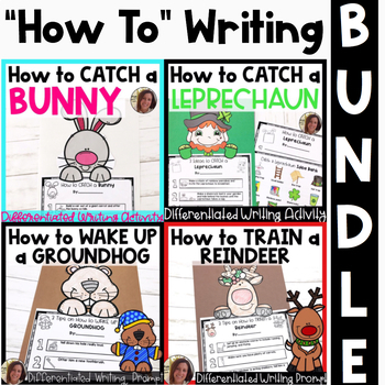 How To Differentiated Writing BUNDLE   Special Education and Autism Resource
