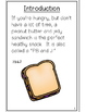 """""""How To""""  Easy Reader - How To Make a PB & J Sandwich"""