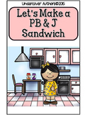 """How To""  Easy Reader - How To Make a PB & J Sandwich"