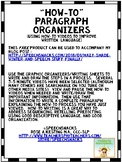 """""""How-To"""" Paragraph Organizers"""
