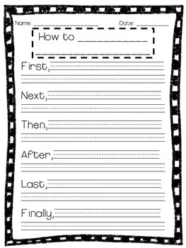 """How-To"" Writing Pages!"