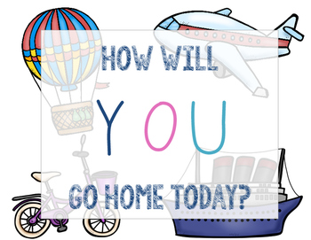 { How Will You Get Home Today? } Posters
