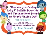 """How am I feeling today?"" Bulletin Board and Feelings Journal Set"