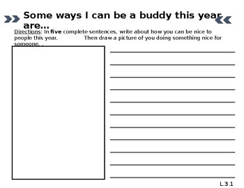 """""""How can I be a buddy this year..."""""""