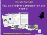 'How did children campaign for Civil Rights?'