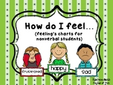 """""""How do I feel..."""" (3 different charts for non-verbal children)"""