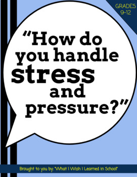 """""""How do you handle stress and pressure?"""" Job Interview Que"""