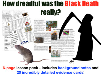 Black Death Card Sort