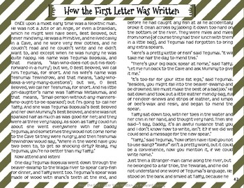 """""""How the First Letter Was Written"""" Just So Stories with Depth and Complexity"""