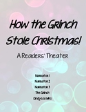 """""""How the Grinch Stole Christmas"""" Readers' Theater"""