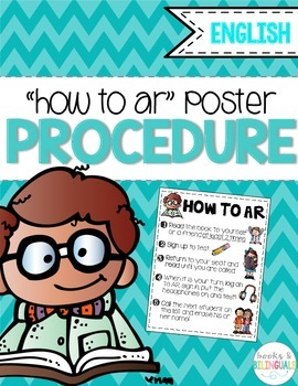 """""""How to AR"""" Procedure Poster"""