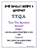 """""""How to Answer a Question"""" Poster"""
