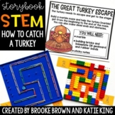 {How to Catch a Turkey} Digital + Printable Storybook STEM