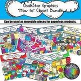 How to Clip Art Sets Bundle- ChalkstarGraphics