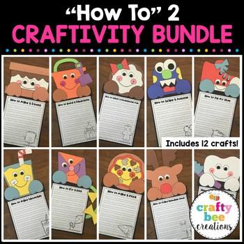 """How to"" Craftivity Set #2 (Growing Bundle)"