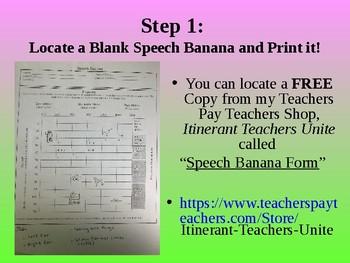 """How to Create a Speech Banana"" PowerPoint"