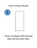 """""""How to Draw a Rocket"""" instructions"""