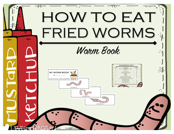 """""""How to Eat Fried Worms"""" WORM BOOK"""