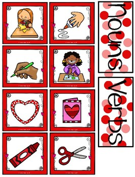 """How to Make a Valentine"" Emergent Reader, Sequencing, Nouns/Verbs, and Writing"