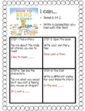 """""""How to Read a Story"""" Writing Connection"""
