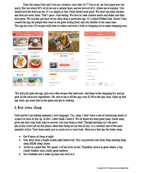 """""""How to Stay Healthy With a Teacher's Schedule"""" Mini-ebook!"""