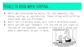 """How to Study"" - Lesson Plan, Activities, and Powerpoint"