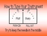 """How to Tune Your Instrument"" Poster"