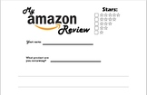 """How to Write an Amazon Review"" Unit, two writing and two"