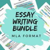 Essay Writing Bundle for All Subjects - MLA Format, CCSS Aligned