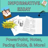 Informative Essay Complete Common Core Lesson Plan
