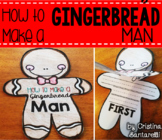 """How-to"" Writing with Gingerbread Man"