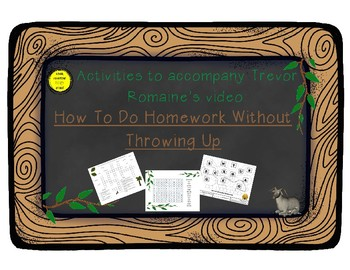 """How to do Homework Without Throwing Up"" activity packet"