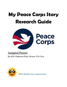 (Humanitarianism) Peace Corps Stories —Project BUNDLE #2 of 2