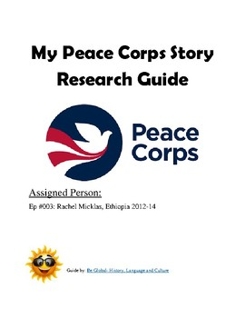 (Humanitarianism) Peace Corps Stories —Project BUNDLE #1 of 2