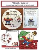 """Humpty Dumpty""  Nursery Rhymes Storytelling Craft Wheel & Writing Prompt"