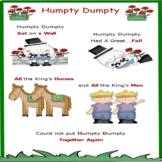 ASL Rhyme 'Humpty- Dumpty' Poster