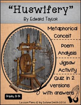 """Huswifery"" by Edward Taylor - Puritan Poetry"
