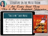 """""""I Am Every Good Thing"""" Book, """"This is Me"""" Music, PE Poses, & SEL Letter Unit"""